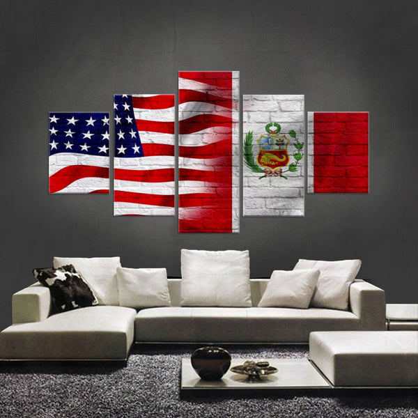 HD PRINTED LIMITED EDITION AMERICAN-PERUVIAN CANVAS