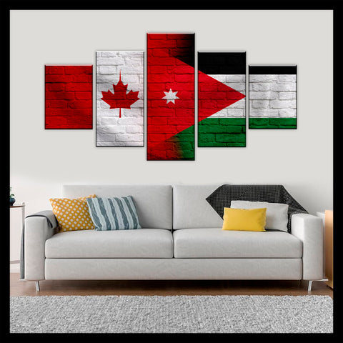 HD PRINTED LIMITED EDITION CANADIAN - JORDANIAN (JORDAN) CANVAS