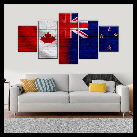 HD PRINTED LIMITED EDITION CANADIAN - KIWI (NEW ZEALAND) CANVAS