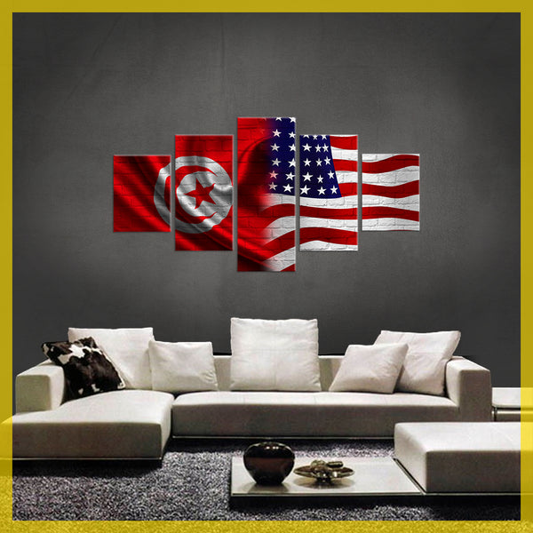 Tunisia  American CANVAS (LIMITED EDITION)