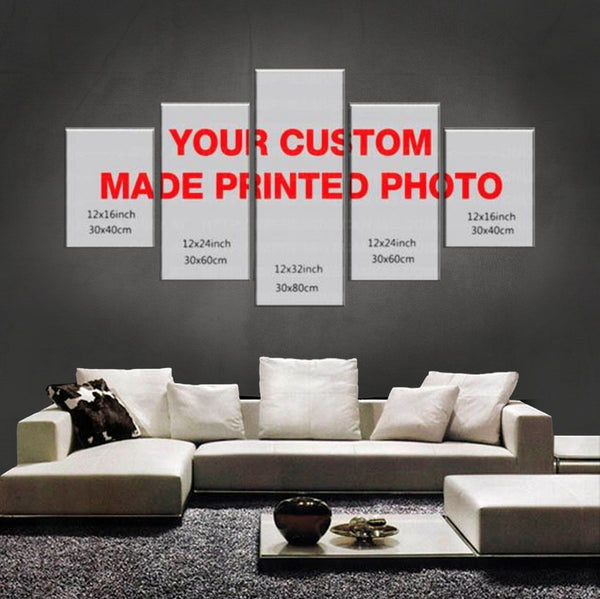 HD PRINTED LIMITED EDITION 5 PIECE INDIAN CANVAS