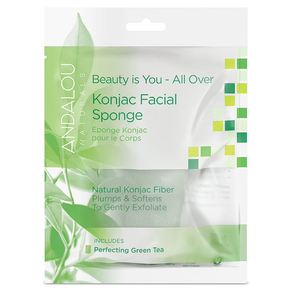 Andalou Naturals Konjac All Over Body Sponge