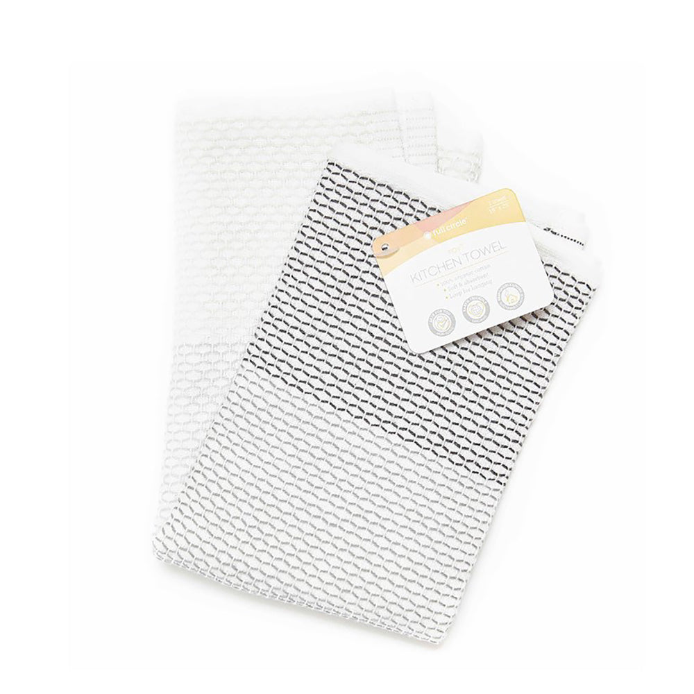 Grey Tidy Kitchen Towel