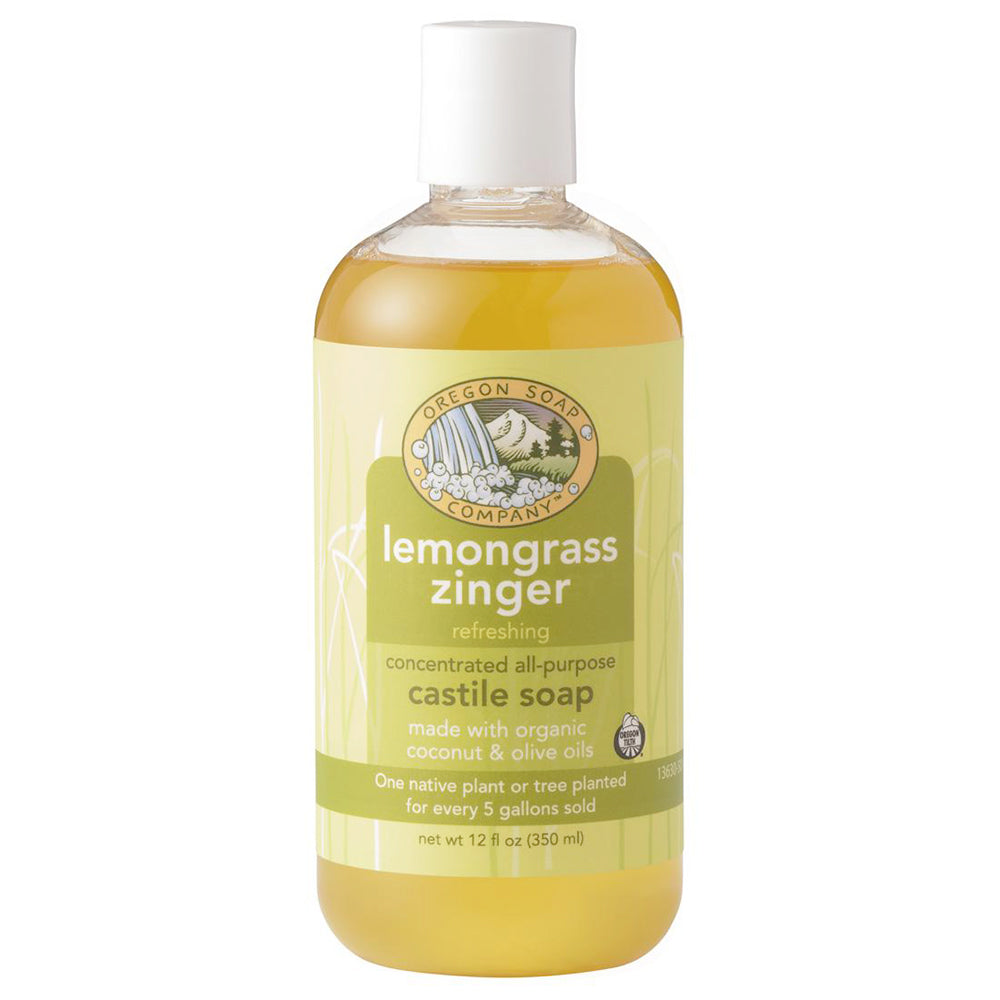 Oregon Soap Company Lemongrass Zinger Castile Soap