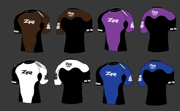 2019 Color Belt ZR Rash Guard - Europe