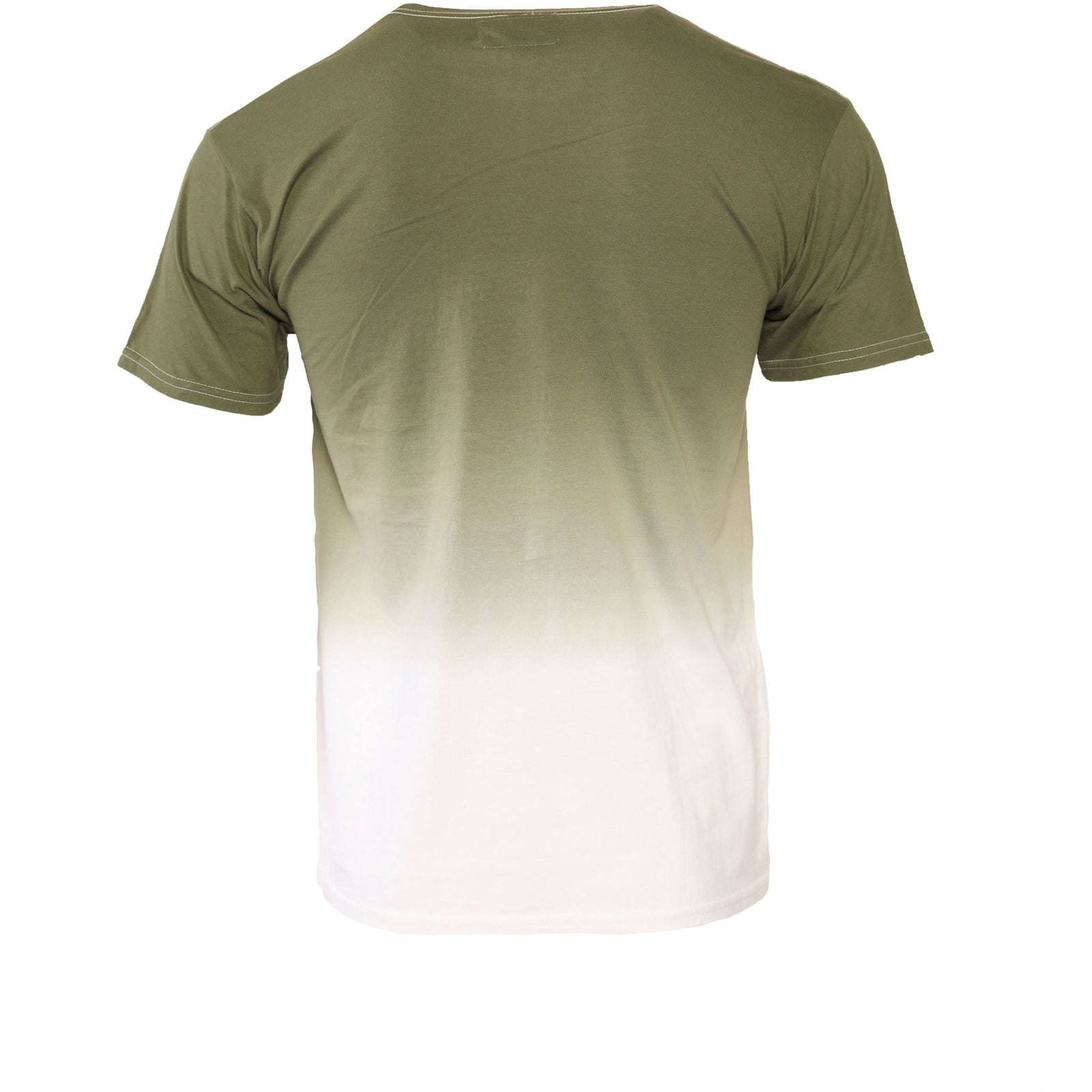 "Ailip Apparel's Olive Dip Dye Shirt - (Previous Collection) - AILIP ""Anything In Life Is Possible"""