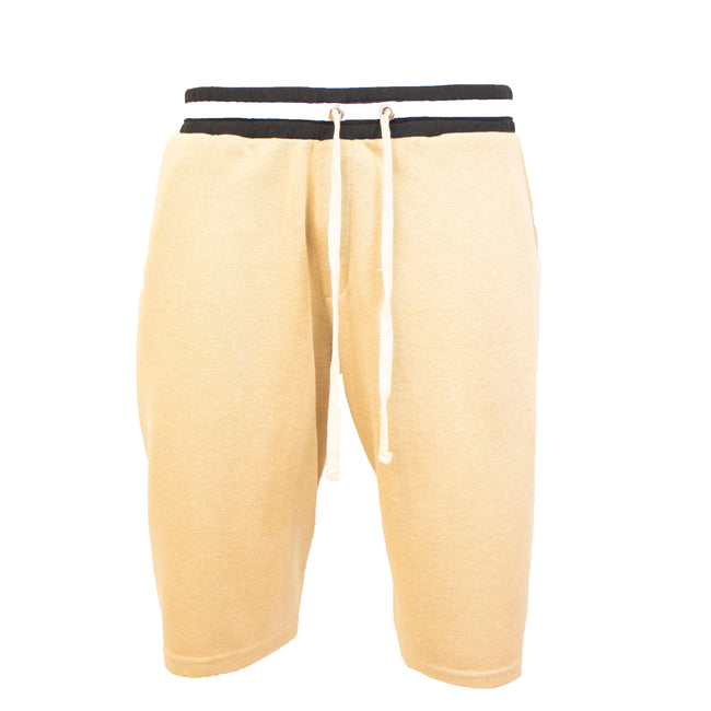 "AA/S-16 Lounge Short's-Tan - AILIP ""Anything In Life Is Possible"""