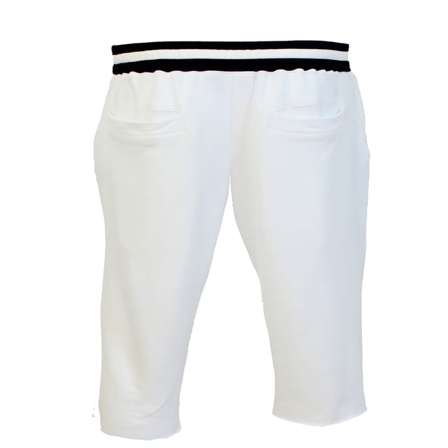 "AA/S-17 Lounge Short's-White - AILIP ""Anything In Life Is Possible"""