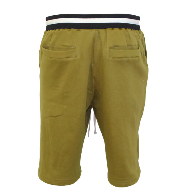 "AA/S-15 Lounge Short's-Olive - AILIP ""Anything In Life Is Possible"""