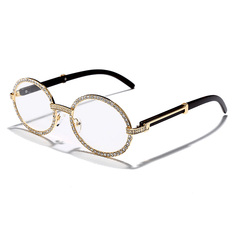 🔥 Unisex Lab Diamond Frame Glasses - Bella