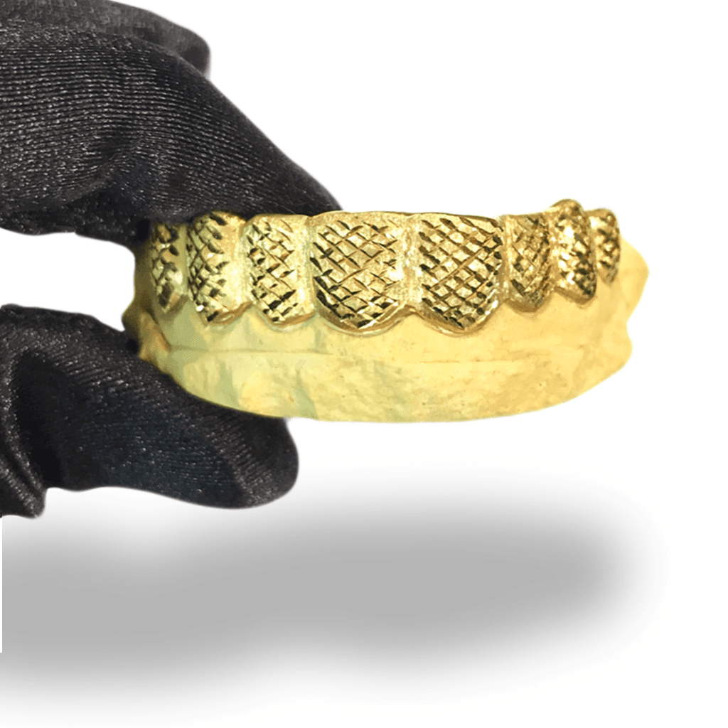 (Custom) Diamond Cut Gold Grillz - Industry Pieces