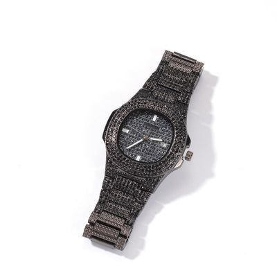 🛍️ 💗 BUSSDOWN Iced Out Watch - Industry Pieces