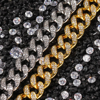 13mm Cuban Link Lab Diamond Necklace - Industry Pieces
