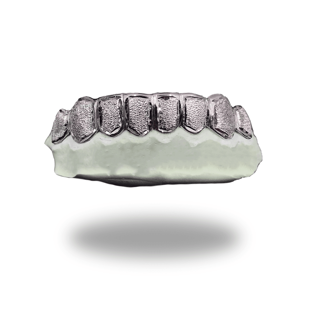 (Custom) White Diamond Dust Grillz - Industry Pieces