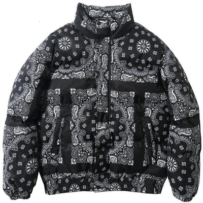 Sparks Bandana Bubble Coat