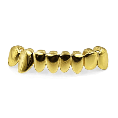 Yellow Gold 🔥 (Pre-Made) HQ Bottom Grill-18k - Industry Pieces