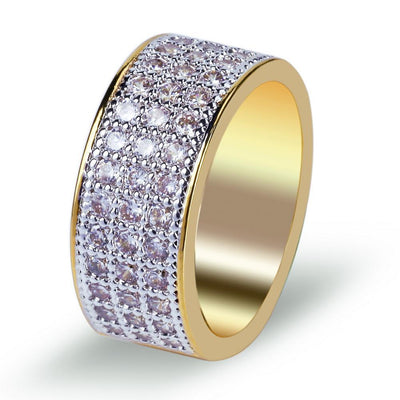 Macro Pave Eternity Ring