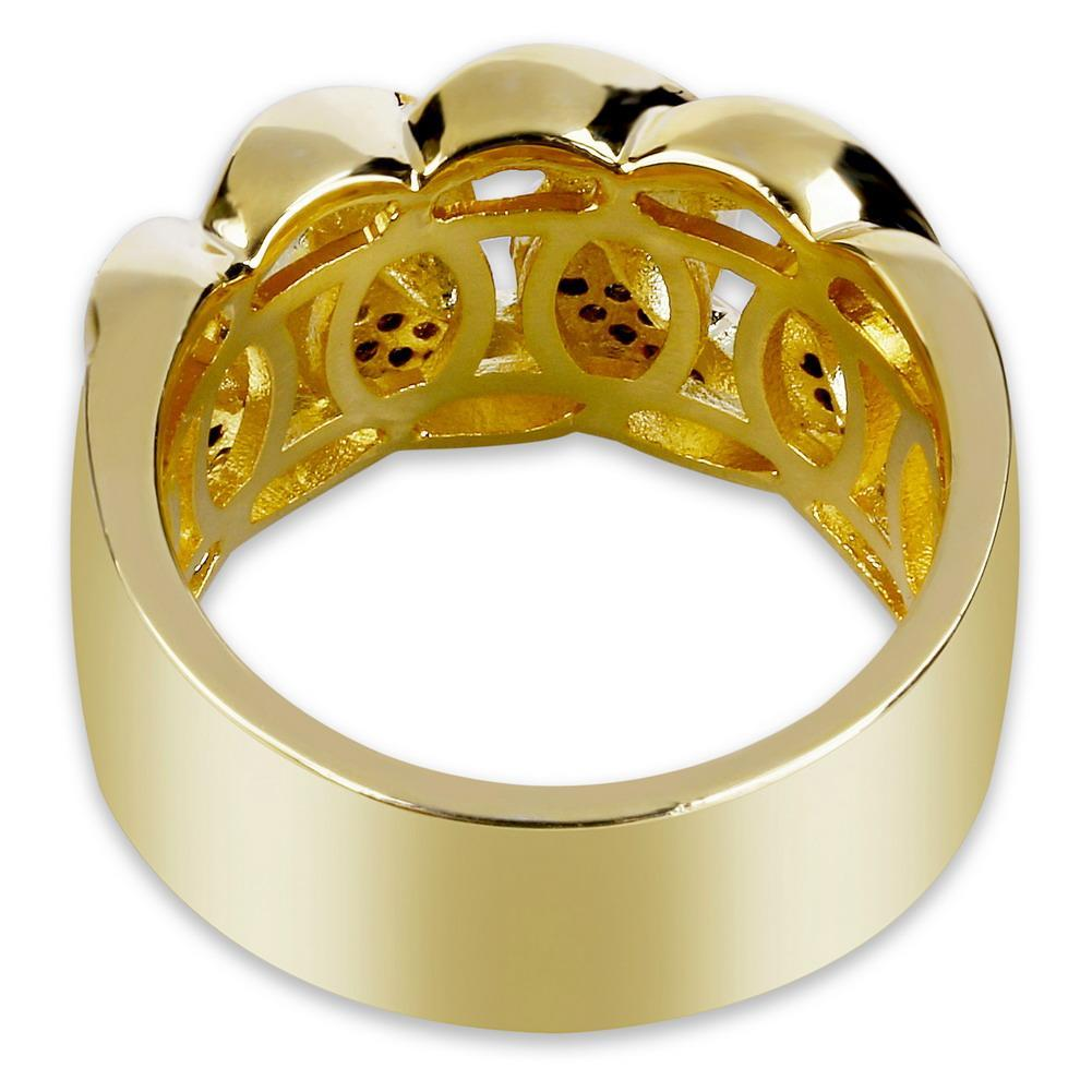 Aaa Mastercard Login >> Iced Out Cuban Ring - Industry Pieces
