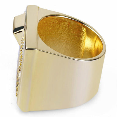 The Beat Machine Ring - Gold/Silver - Industry Pieces