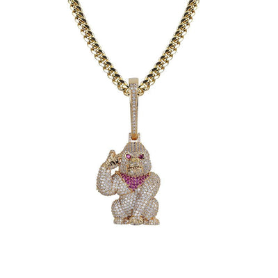 Animal Orangutan Pendant Necklace