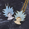 Dragon Ball Sun Wukong Lab Diamond Pendant + Necklace