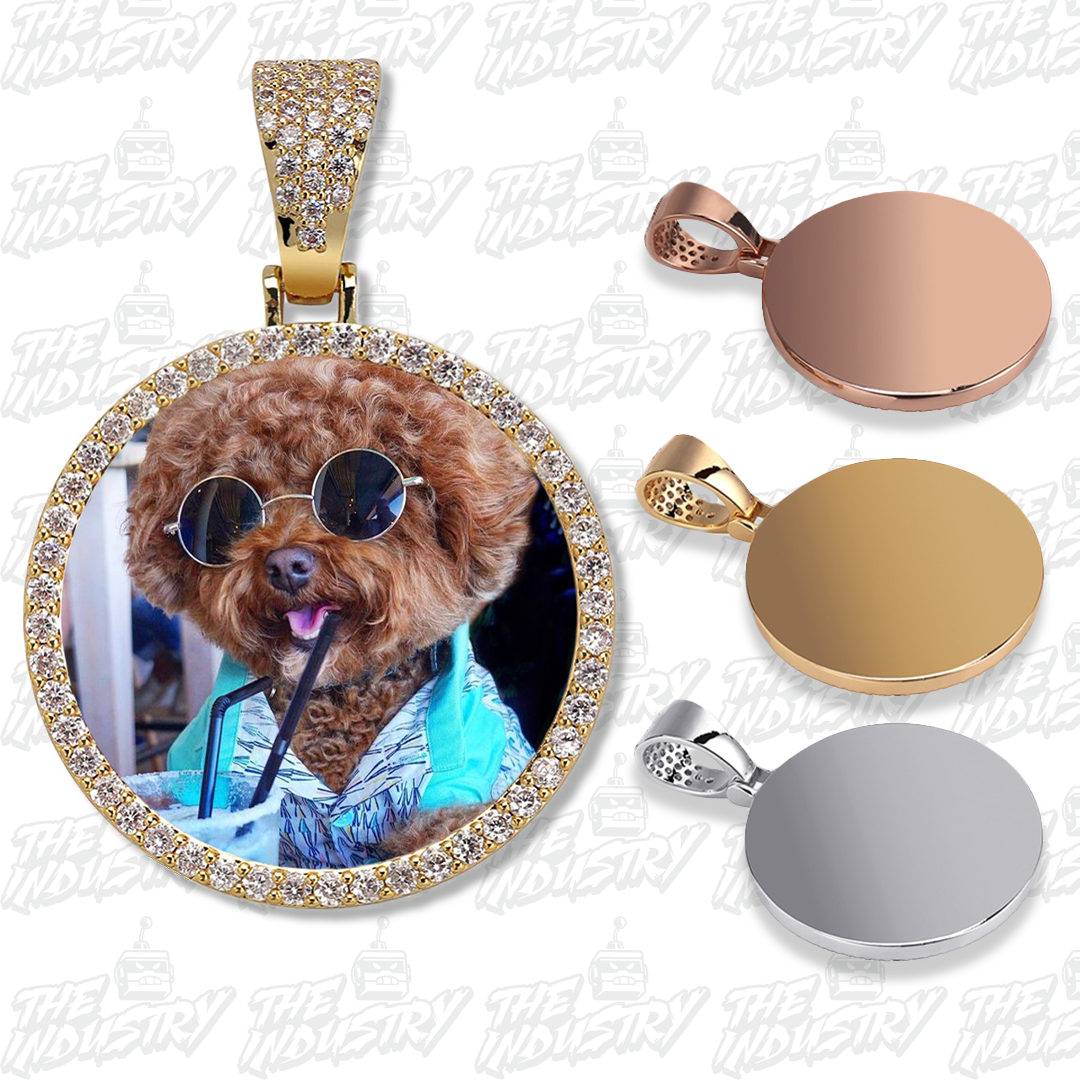 Custom Photo Pendant + Necklace - Industry Pieces