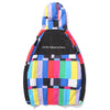 Multi Color Block Patchwork Hooded Jackets