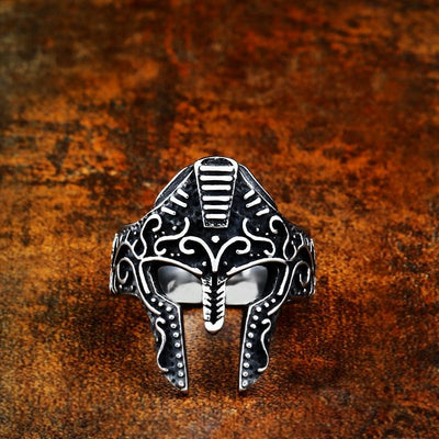 Knight Mask Ring