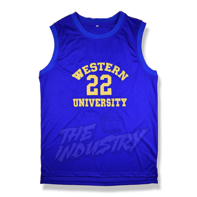 Blue Chips - Butch McRae/Anfernee (Penny) Hardaway Western University Basketball Jersey - Industry Pieces