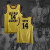 The Fresh Prince of Bel-Air - #14 Bel-Air Academy Basketball Jersey - ** GOLD EDITION **