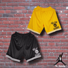 The Fresh Prince of Bel-Air - Bel-Air Academy Basketball Shorts - Black/Yellow