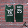 Green / S Carlton - The Fresh Prince of Bel-Air - #25 Bel-Air Academy Basketball Jersey - Industry Pieces