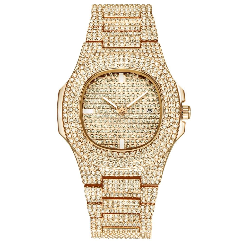 Luxury CZ Iced Out Watch