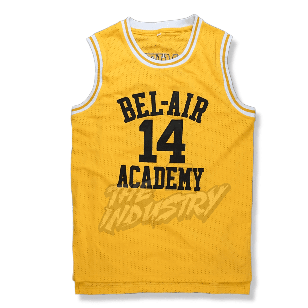 promo code f7a28 5a80d Will Smith - The Fresh Prince of Bel-Air - #14 Bel-Air Academy Basketball  Jersey