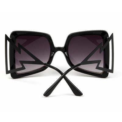 ❤️ 55% OFF ❤️ Womens Vintage Glam Temple Sunglasses