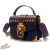 LION HEAD SQUARE HANDBAG