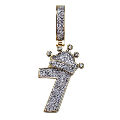 Lucky 7 Piece - W/Rope Chain