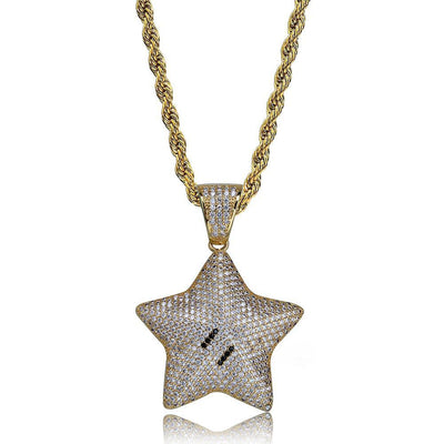 Star Emoji - W/Rope Chain