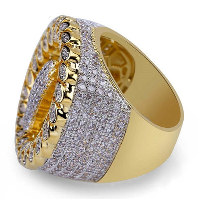 Lab Diamond Praying Hand Ring