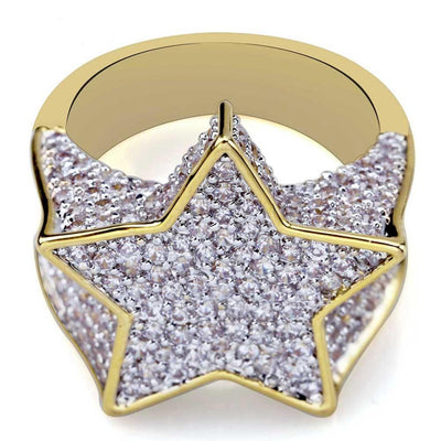 Lab Diamond Star Ring