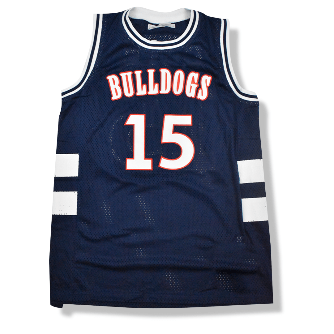 J. Cole - #15 Bulldogs High School Basketball Jersey - Industry Pieces