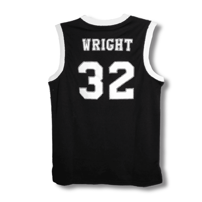 *Black Friday Exclusive* Love & BasketBall (Black Version)- Quincy McCall and Monica Wright Basketball Jersey