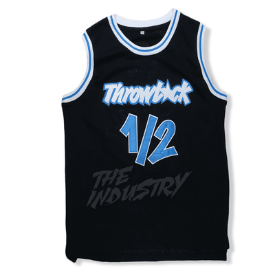 Anfernee Penny Hardaway - Lil Penny - #1/2 Throwback Basketball Jersey - Black