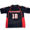 The Longest Yard - Nelly #23/Adam Sandler #18/ Battle #X - Mean Machine Football Jersey