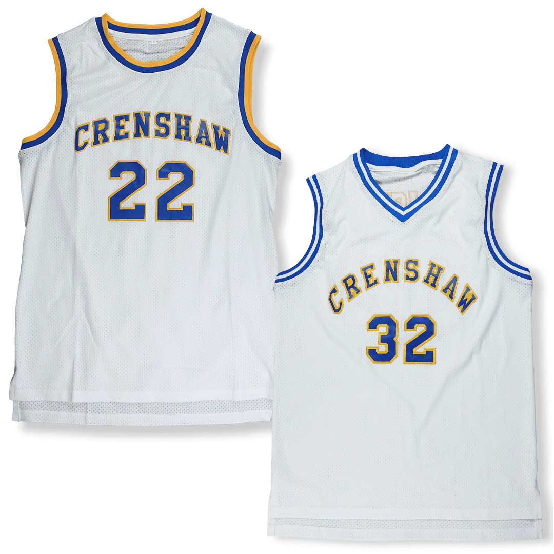 Love & BasketBall - His & Hers - Quincy McCall and Monica Wright Basketball Jersey - Industry Pieces