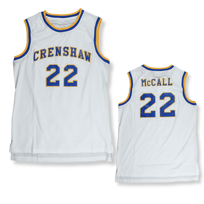 Love & BasketBall - His & Hers - Quincy McCall and Monica Wright Basketball Jersey
