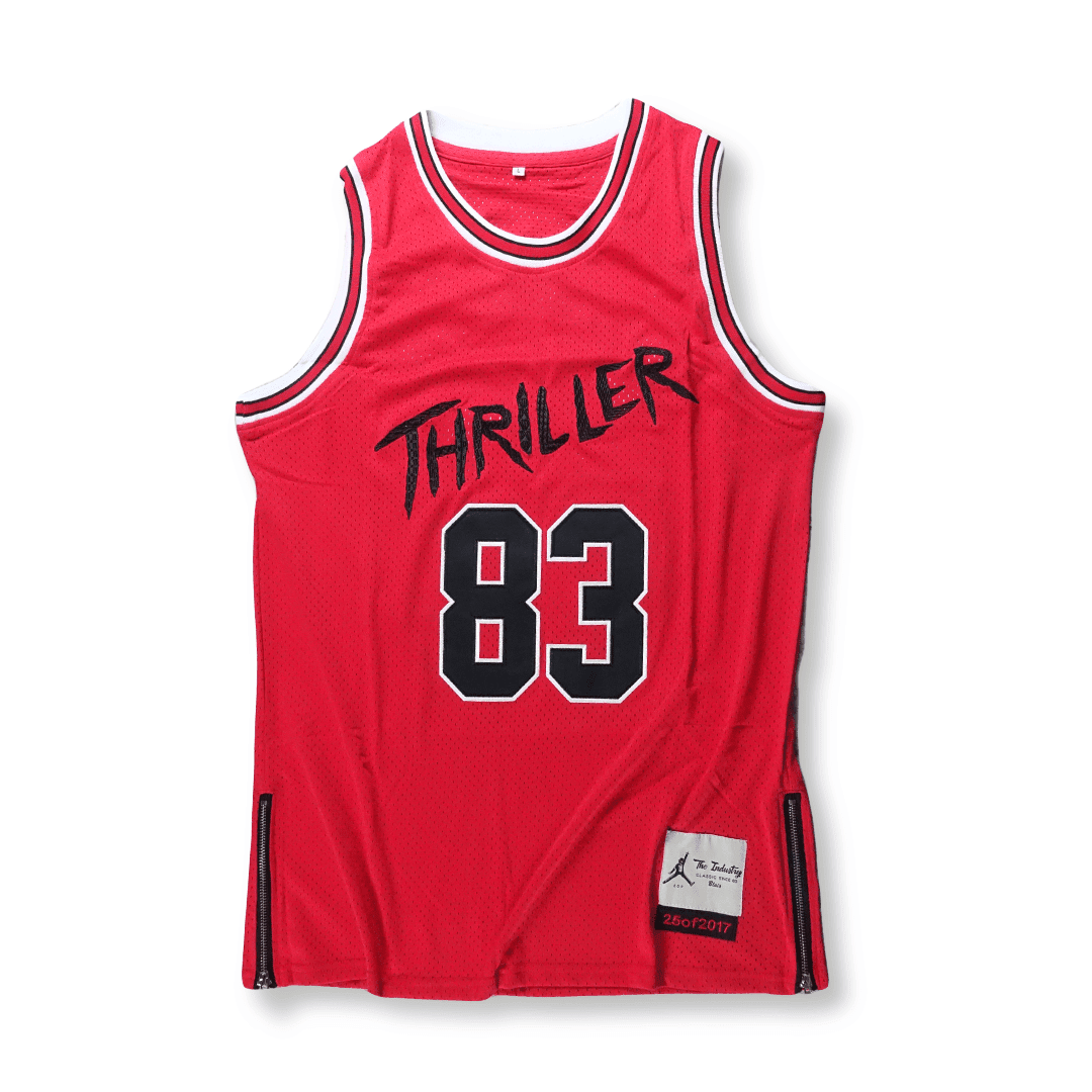 Red / S The Thriller Jersey V.2 - By The Industry - Industry Pieces