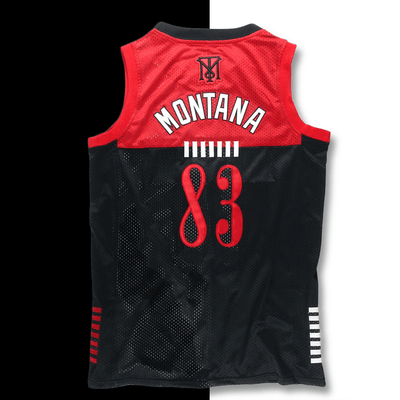 THE INDUSTRY | TONY MONTANA BASKETBALL JERSEY