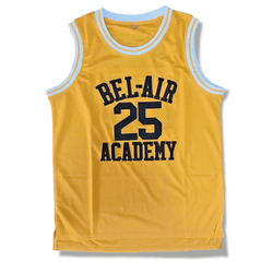 Carlton - The Fresh Prince of Bel-Air - #25 Bel-Air Academy Basketball Jersey