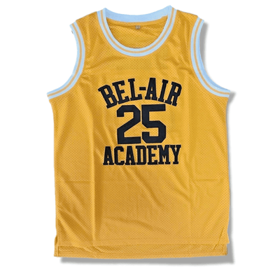 Carlton - The Fresh Prince of Bel-Air - #25 Bel-Air Academy Basketball Jersey - Industry Pieces
